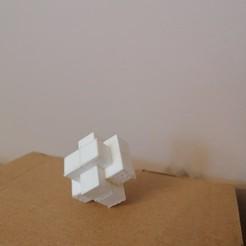 IMG_20201204_133248.jpg Télécharger fichier STL Puzzle de 6 pièces en ronce • Modèle imprimable en 3D, rpeti240