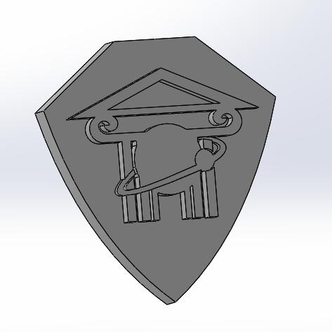 kfgzlogo.png Download free STL file School logo • 3D printer model, rpeti240