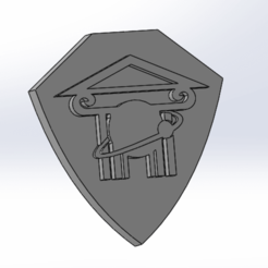 Download free STL files School logo, rpeti240