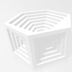 Descargar modelos 3D gratis Caja hexagonal, rpeti240