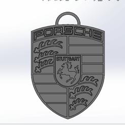 Descargar archivos STL Llavero de Porsche, rpeti240