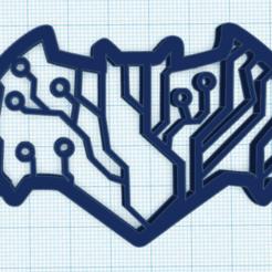 Download STL file BATMAN CIRCUIT LOGO • 3D print object, sublimacolorcancun
