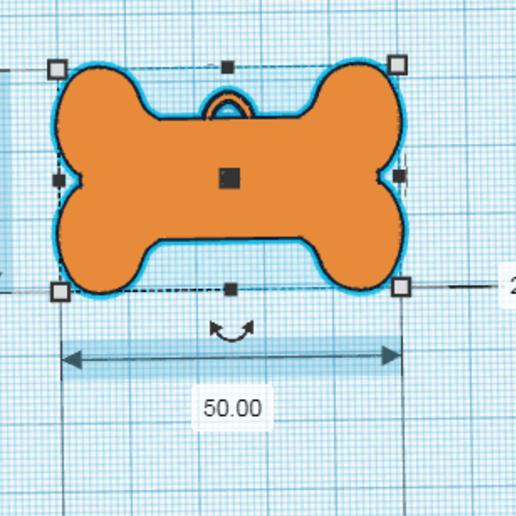 HUESITO.png Télécharger fichier STL gratuit TAG DE CHIEN (OS) • Objet à imprimer en 3D, sublimacolorcancun