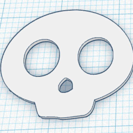 Download free STL file HOLY DEATH CHIBI KEYCHAIN • Design to 3D print, sublimacolorcancun