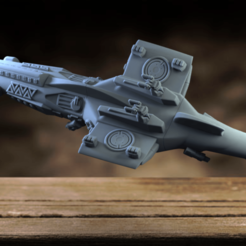 Download 3D printer designs Space Shark, aspan72