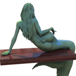 Mermaid (1).png Download STL file Mermaid  • 3D print object, aspan72