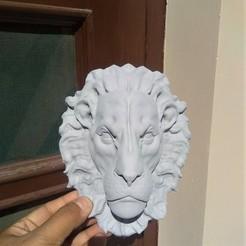 Télécharger objet 3D tête de lion, aspan72