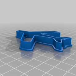 Plane_cookie_cutter.png Download free STL file Plane cookie cutter (remix) • Object to 3D print, vasilp