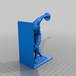 Bookend_Man.png Download free STL file Bookend Man • 3D printing model, vasilp
