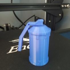 IMG_20200414_091004.jpg Télécharger fichier STL gratuit grenade porte clé • Plan à imprimer en 3D, leonhotat