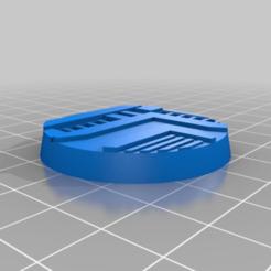 Download free 3D printer designs Necromunda Base 40 mm, jw7007