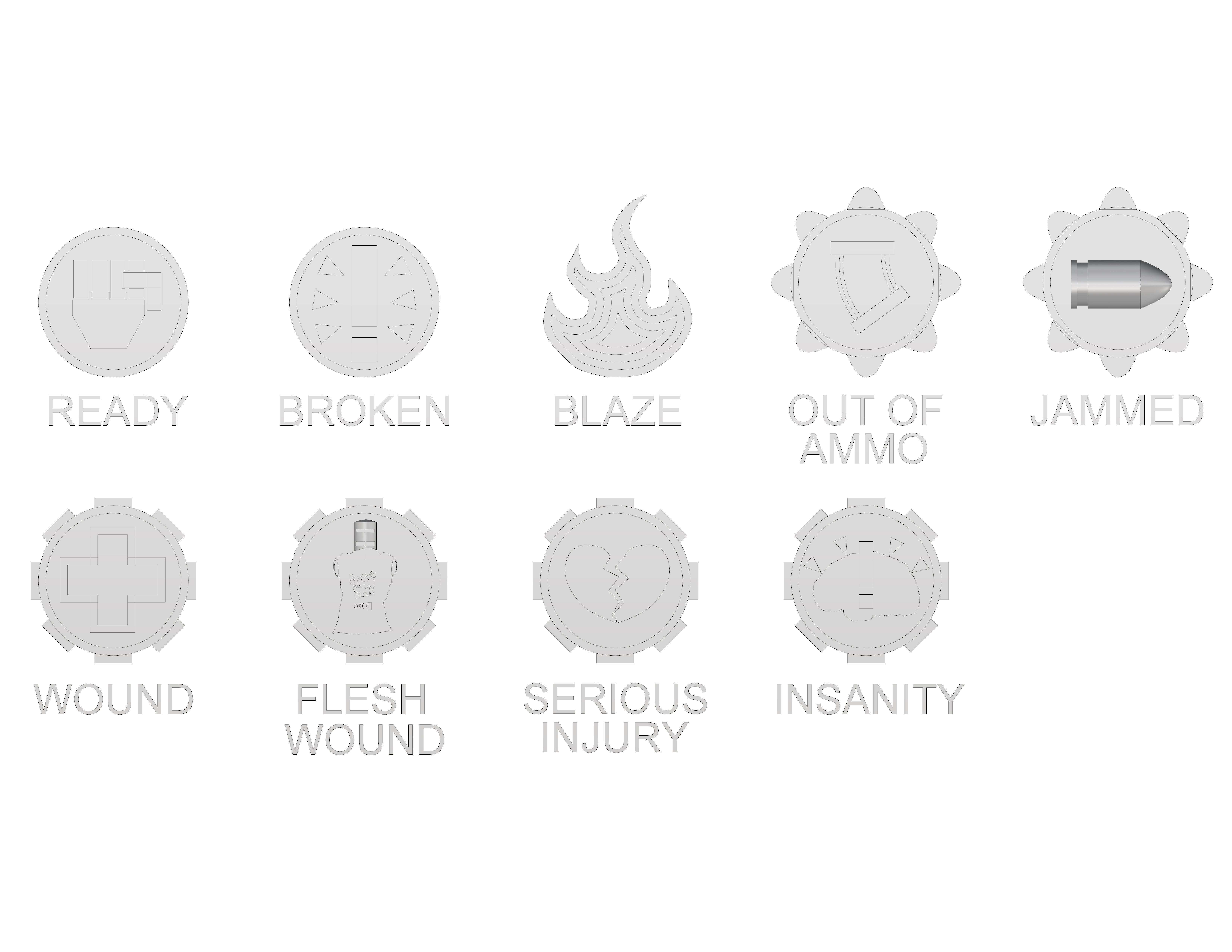token2.jpg Download free STL file Necromunda Status Markers • Design to 3D print, jw7007