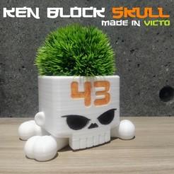 Descargar modelos 3D gratis KenBlockSkull, madeinvicto