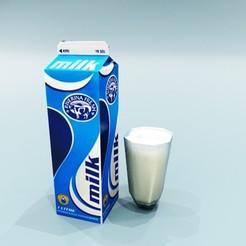 Télécharger fichier 3D gratuit lait, nigthwolf611