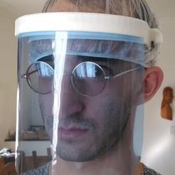 Télécharger objet 3D gratuit Protecteur biologique du visage, MassiveAux