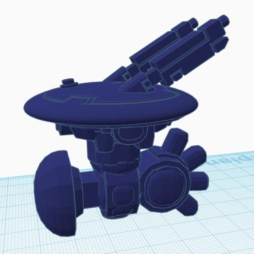 Download Free 3D Printer Model Pulse Drone