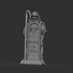 1.PNG Télécharger fichier STL squelette avec tombe repose en paix • Design pour imprimante 3D, nicoco3D