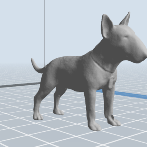 2.PNG Download 3MF file Bull Terrier Dog • 3D printable object, nicoco3D