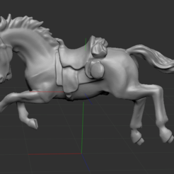 1.PNG Download free STL file horse • 3D print design, NICOCO3D