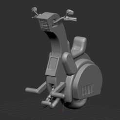 1.JPG Download free STL file DragonBall Motorcycle Z • 3D printable template, nicoco3D