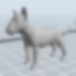 chien.stl Download 3MF file Bull Terrier Dog • 3D printable object, nicoco3D