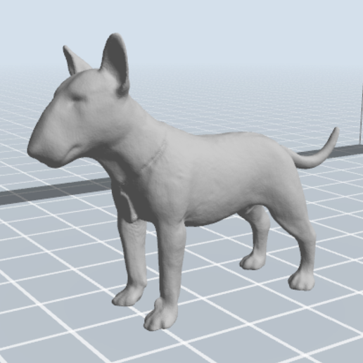 1.PNG Download 3MF file Bull Terrier Dog • 3D printable object, nicoco3D