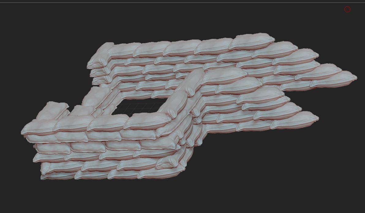 5.JPG Télécharger fichier STL gratuit SAC DE SABLE MILITAIRE A4 • Objet pour impression 3D, NICOCO3D