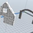 5.PNG Télécharger fichier STL gratuit Maison ruine • Plan imprimable en 3D, nicoco3D