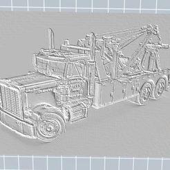 Télécharger fichier impression 3D gratuit Peterbilt 359 wrecker, nicoco3D