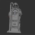 1.PNG Download STL file squelette avec tombe • 3D printing model, nicoco3D
