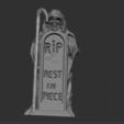 1.PNG Télécharger fichier STL gratuit squelette avec tombe • Modèle imprimable en 3D, NICOCO3D