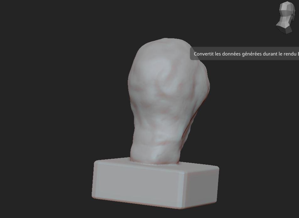 3.JPG Télécharger fichier OBJ gratuit Scream buste • Objet imprimable en 3D, nicoco3D