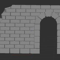 Download free STL file ancient wall • 3D printing model, nicoco3D