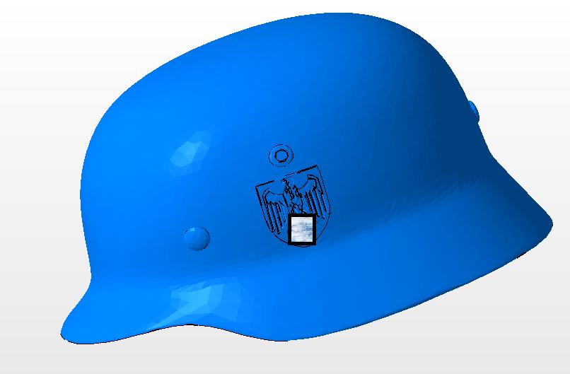 6.PNG Télécharger fichier OBJ gratuit casque allemand SS  • Design imprimable en 3D, nicoco3D