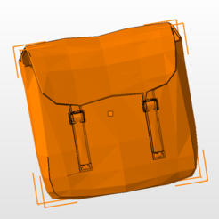 Download free 3D printer model military motorcycle bag, nicoco3D