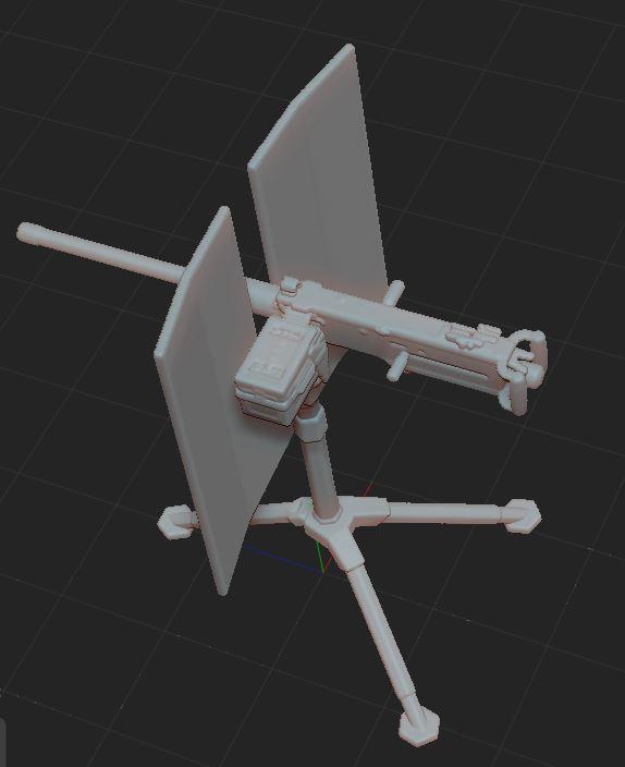 1.JPG Télécharger fichier STL gratuit mitrailleuse  • Modèle pour impression 3D, nicoco3D