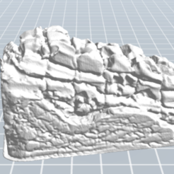 Download free STL file ruined wall, nicoco3D