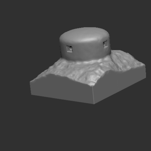 2.PNG Download STL file bunker 1914 French • 3D printer object, NICOCO3D