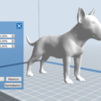 8.PNG Download STL file BULL TERRIER DOG V2 • Template to 3D print, nicoco3D
