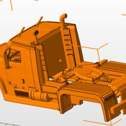 Télécharger fichier imprimante 3D gratuit camion carrosserie , nicoco3D