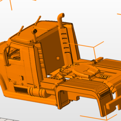 Download free 3D printing templates bodywork truck, nicoco3D