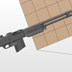 Download 3D printing models BAR M1918 A2, nicoco3D