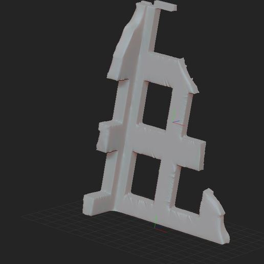 2.JPG Download free STL file ruined house • 3D printing design, nicoco3D