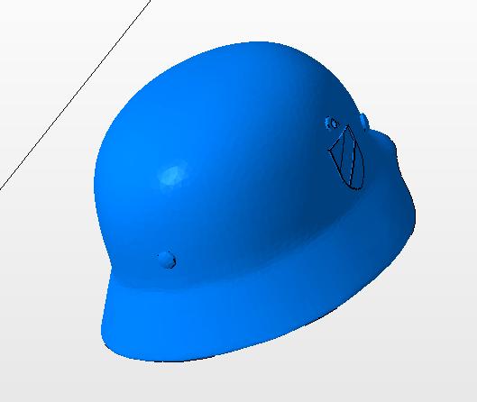 8.PNG Télécharger fichier OBJ gratuit casque allemand SS  • Design imprimable en 3D, nicoco3D