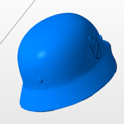 Download STL German SS helmet, nicoco3D