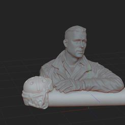1.JPG Download STL file SOLDIER BUST 2020 • 3D printable design, NICOCO3D
