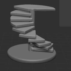 Download free STL file stairs • 3D printing model, nicoco3D