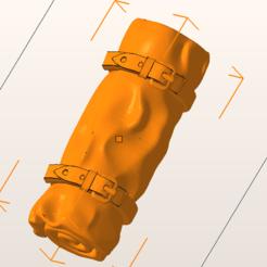 Download free OBJ file sleeping bag • 3D print design, nicoco3D