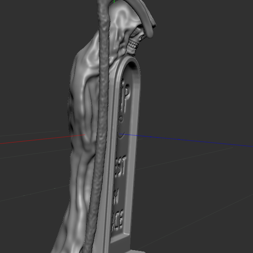 4.PNG Download free STL file skeleton with grave • 3D print template, NICOCO3D
