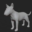 6.PNG Download STL file BULL TERRIER DOG V2 • Template to 3D print, nicoco3D